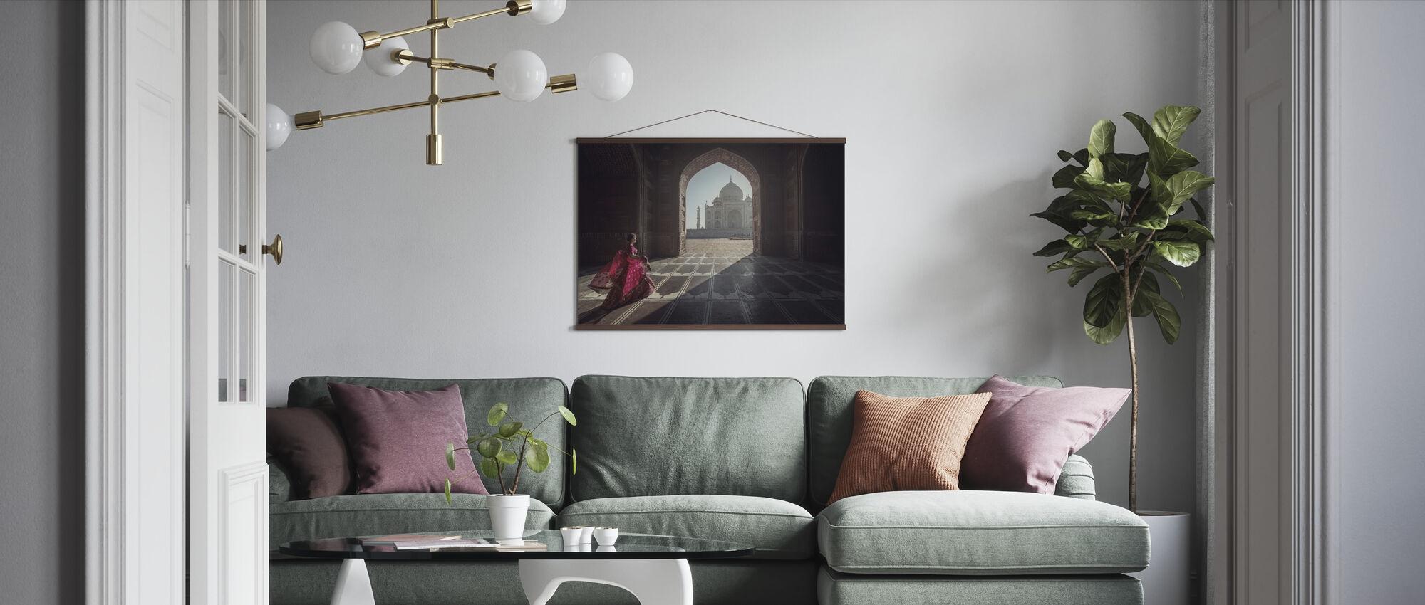 Tajmahal - Poster - Living Room