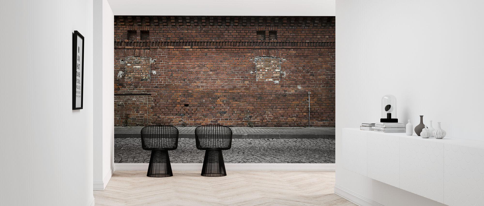 Industrial Background - Wallpaper - Hallway