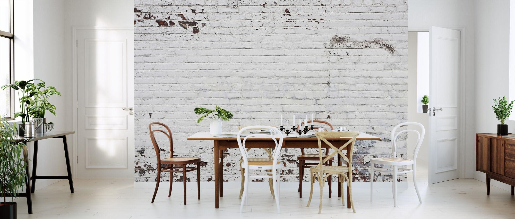 Old Brick Wall - Wallpaper - Kitchen