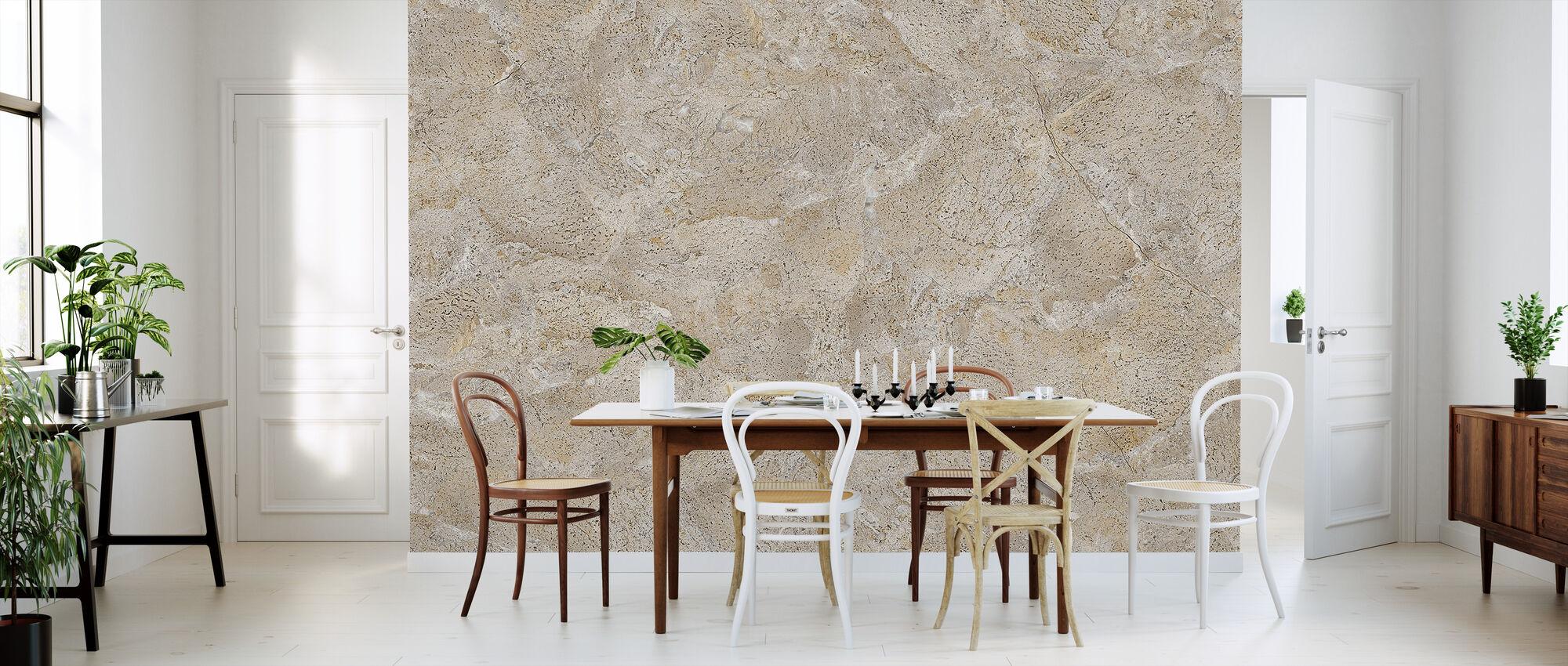 Beige Marmor - Tapete - Küchen