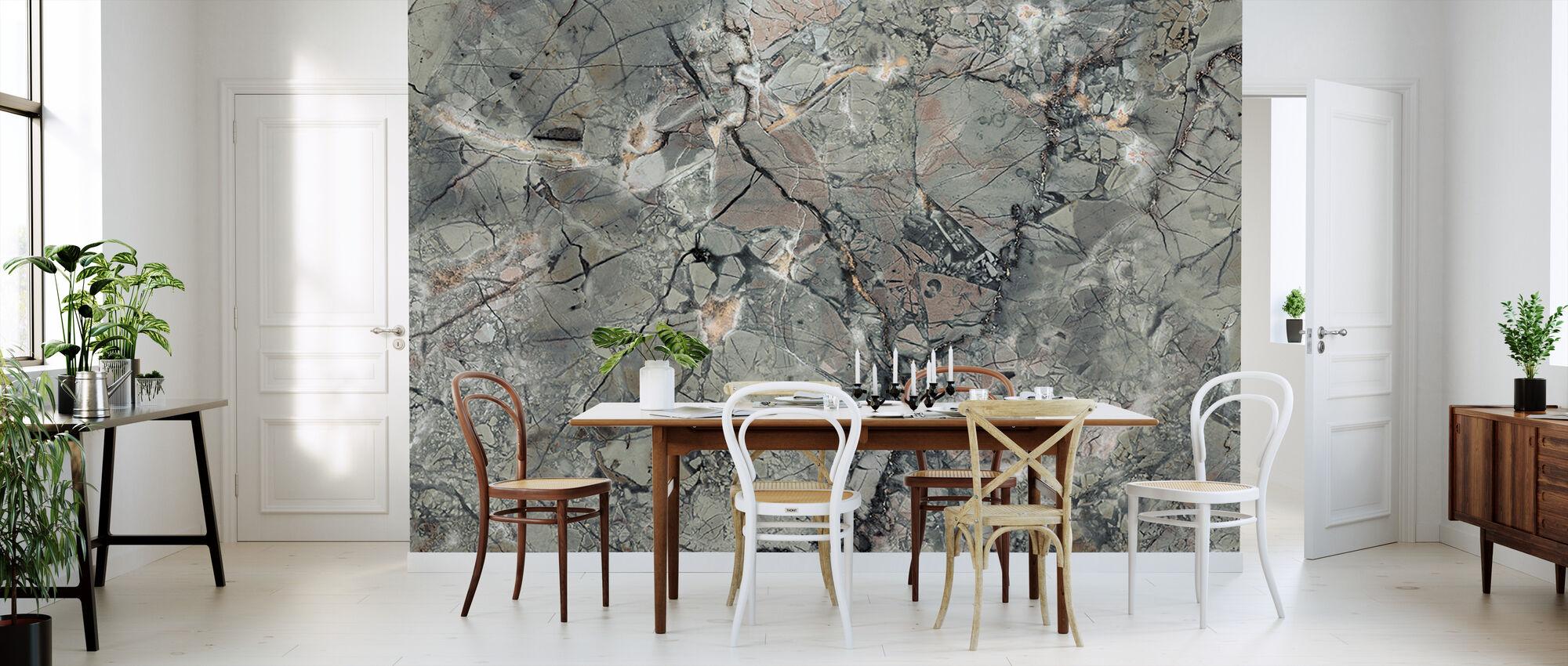 Marmorstruktur - Tapete - Küchen
