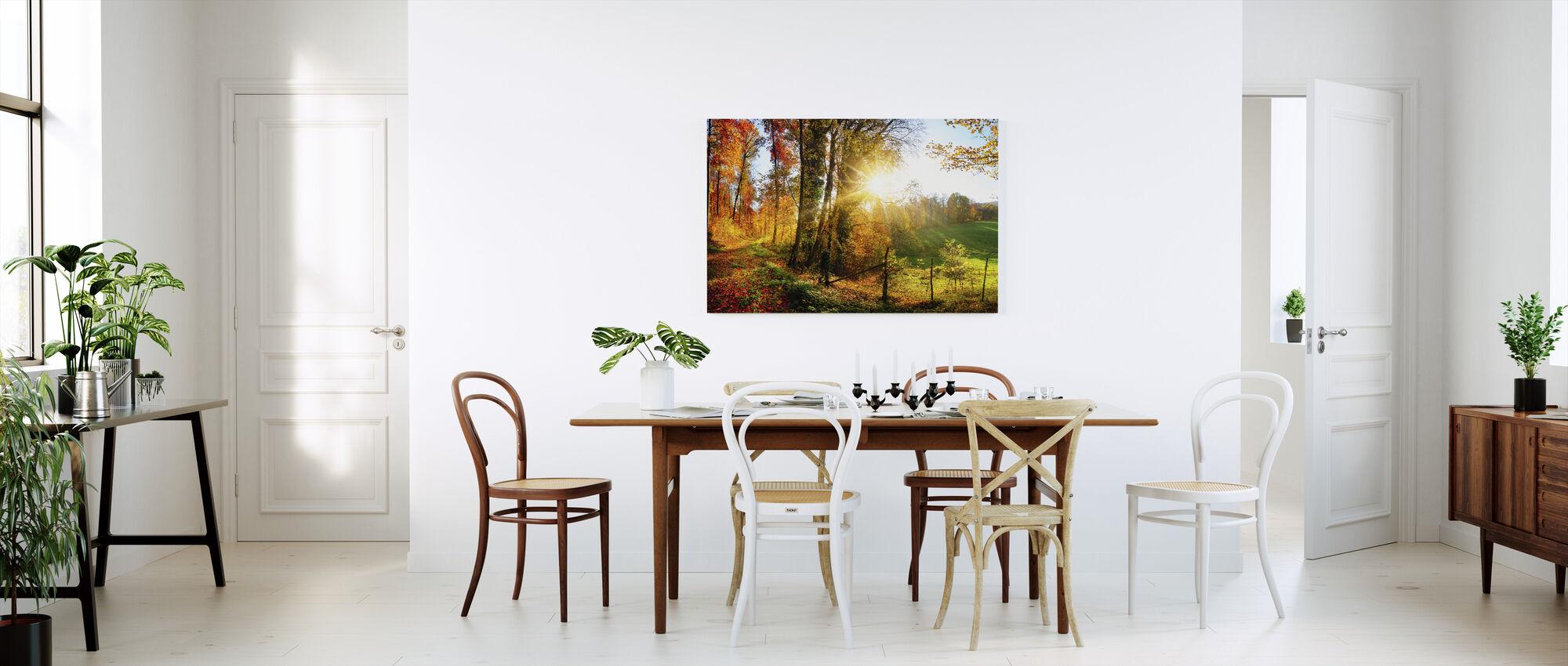Wunderschöne Landschaft - Leinwandbild - Küchen