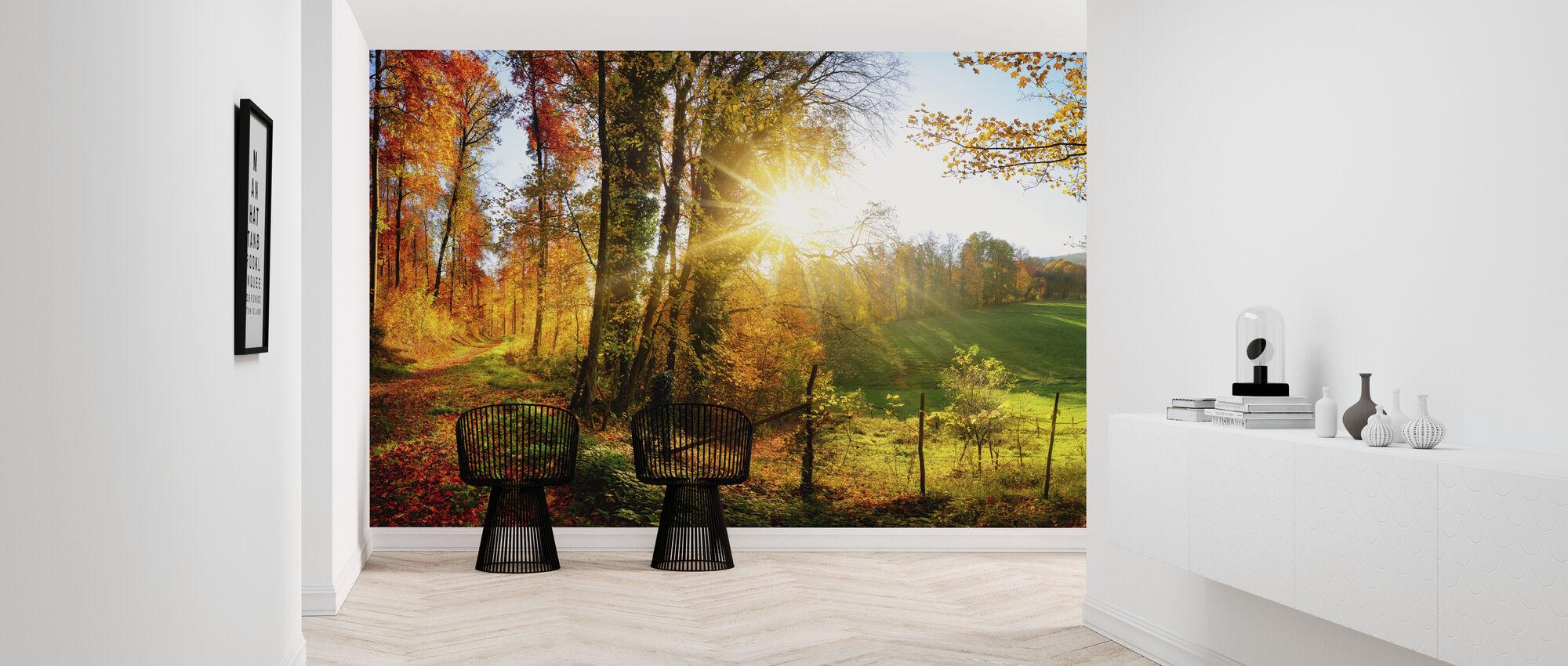 Gorgeous Landscape - Wallpaper - Hallway
