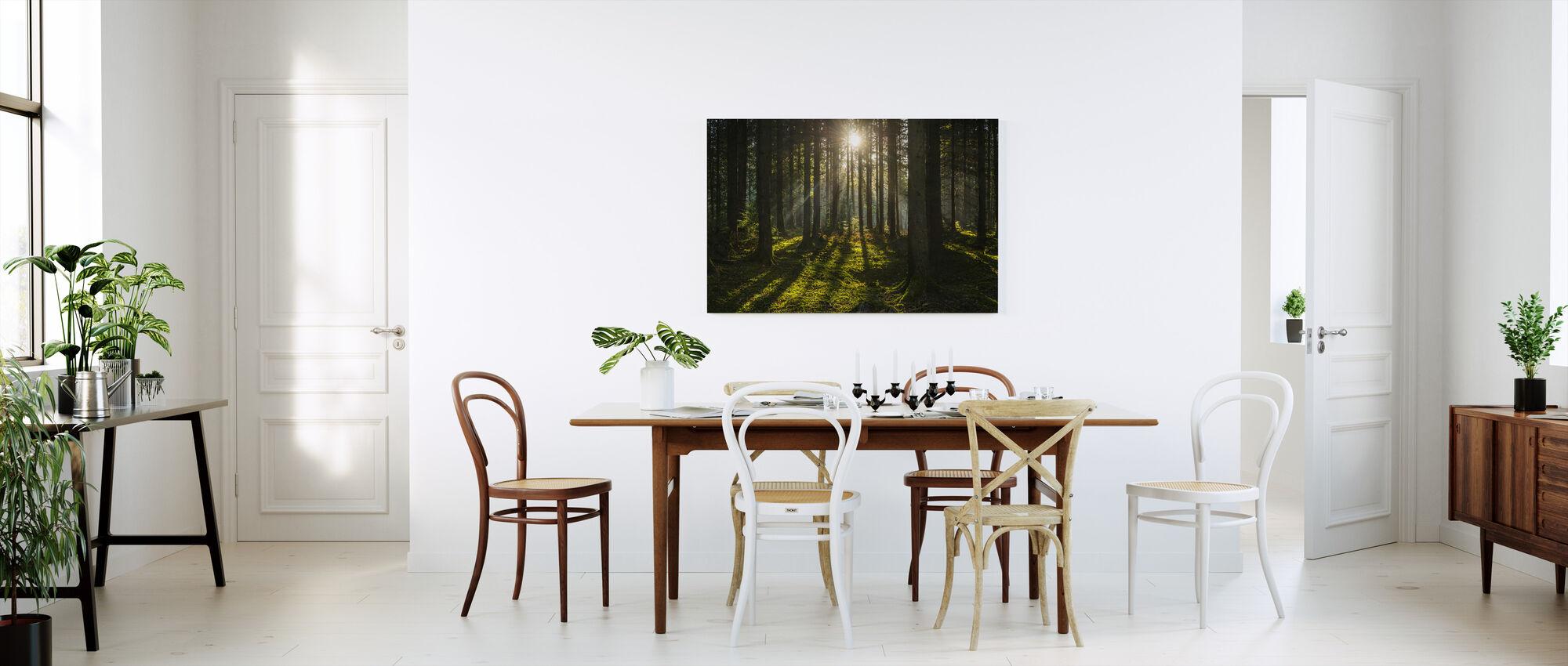 Pine Forest Wilderness - Canvas print - Kitchen