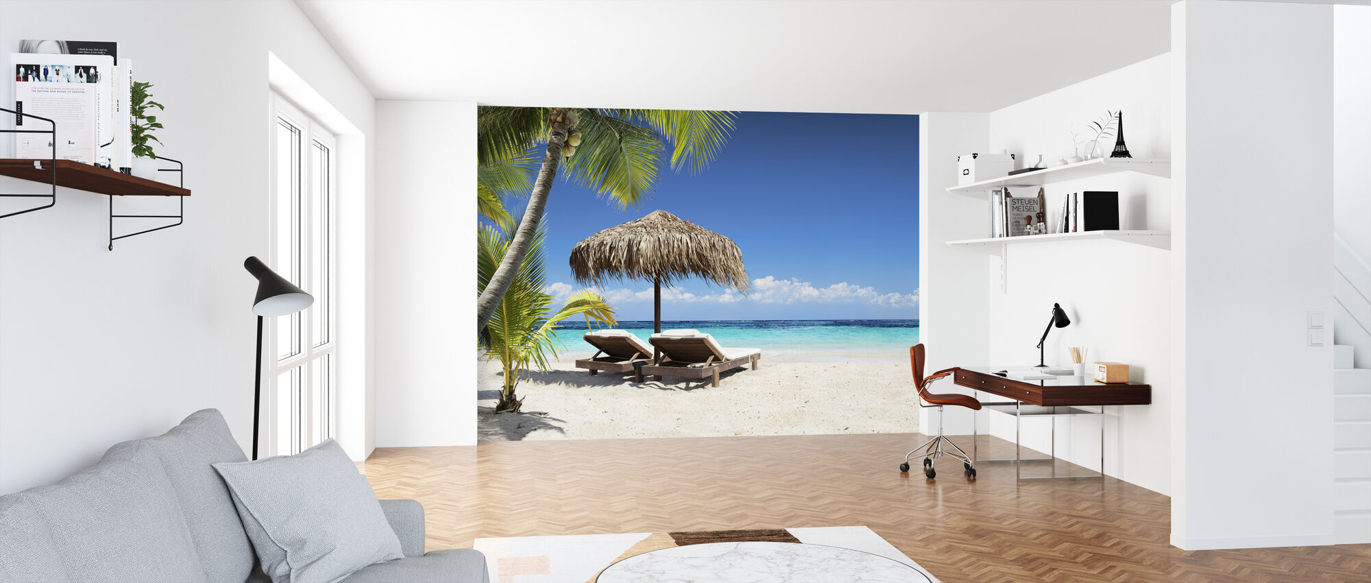 Coral Beach - Tapet - Kontor