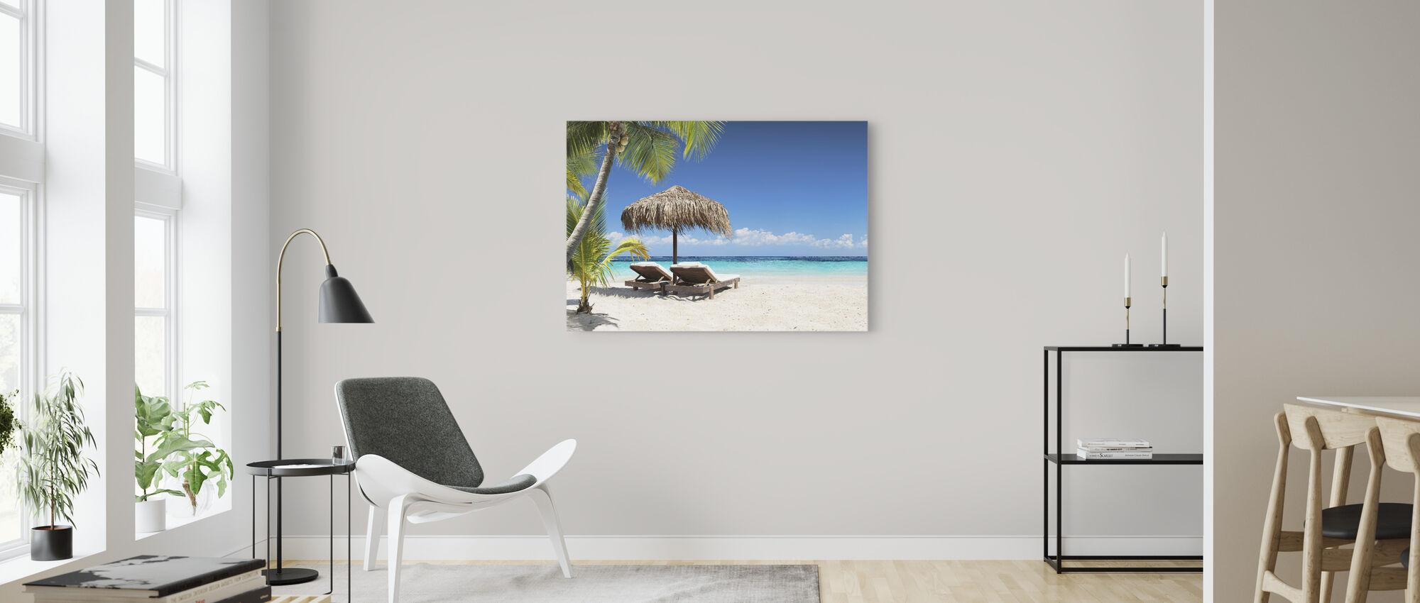 Coral Beach - Canvastaulu - Olohuone
