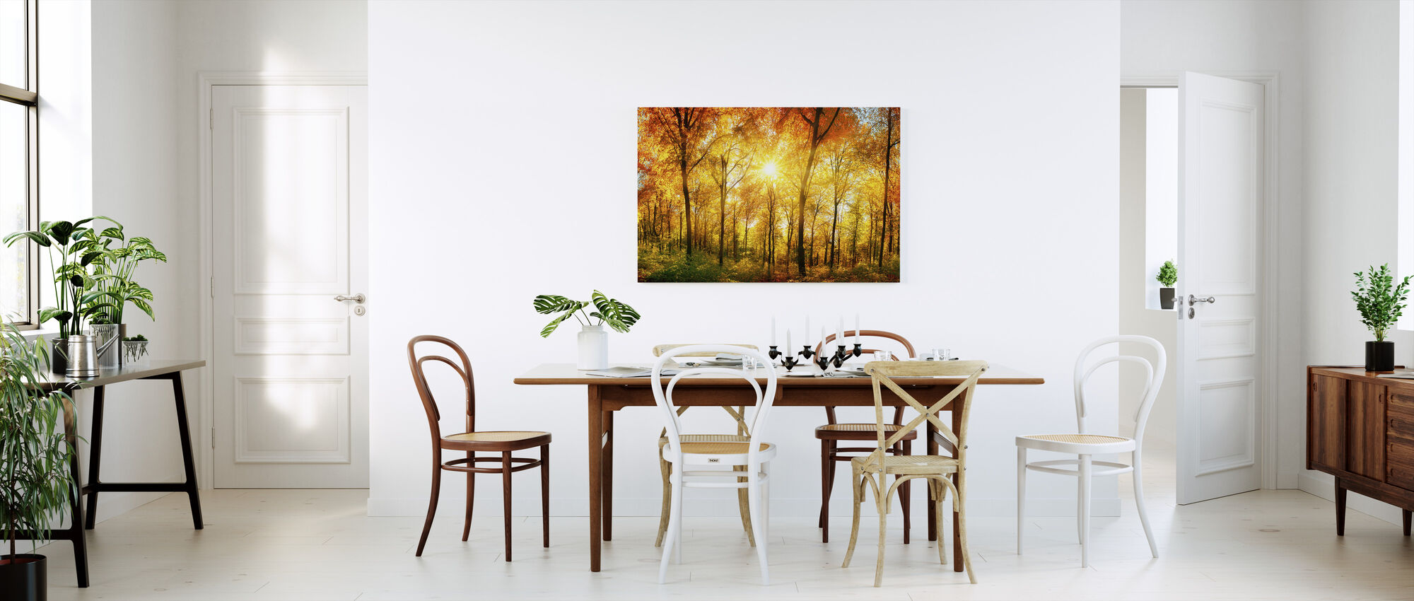 Autumn Forest - Canvas print - Kitchen