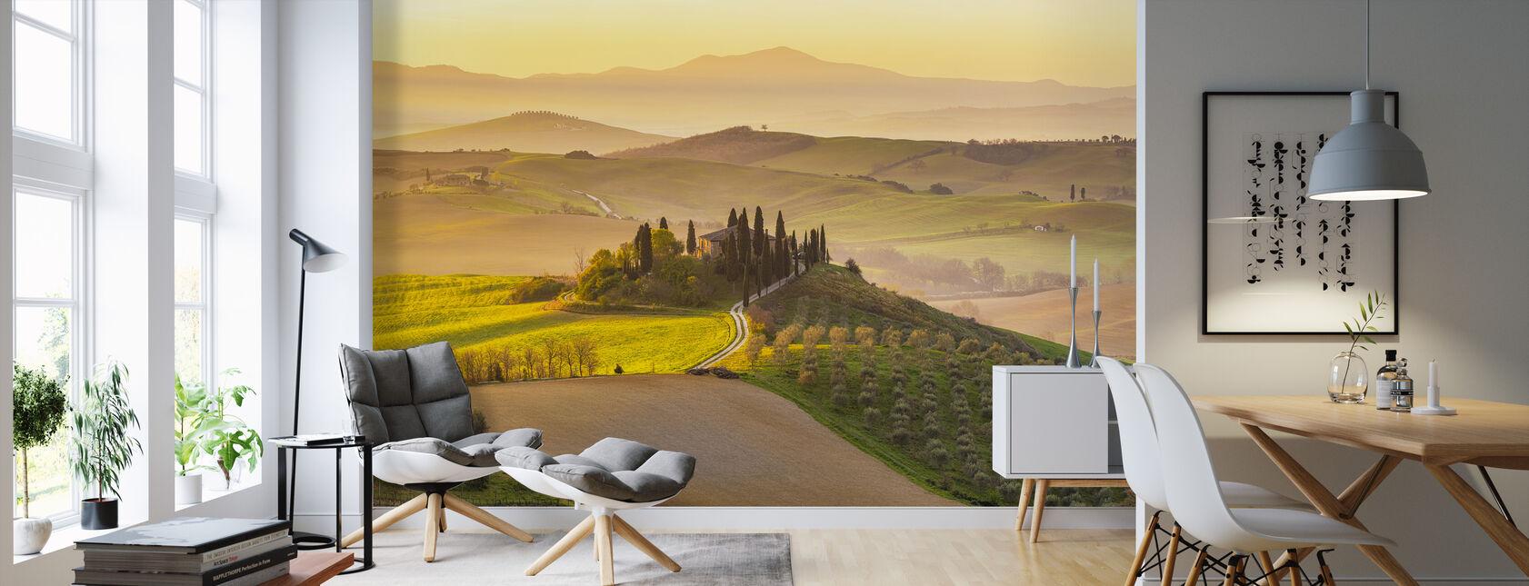 Tuscany Vineyard - Wallpaper - Living Room