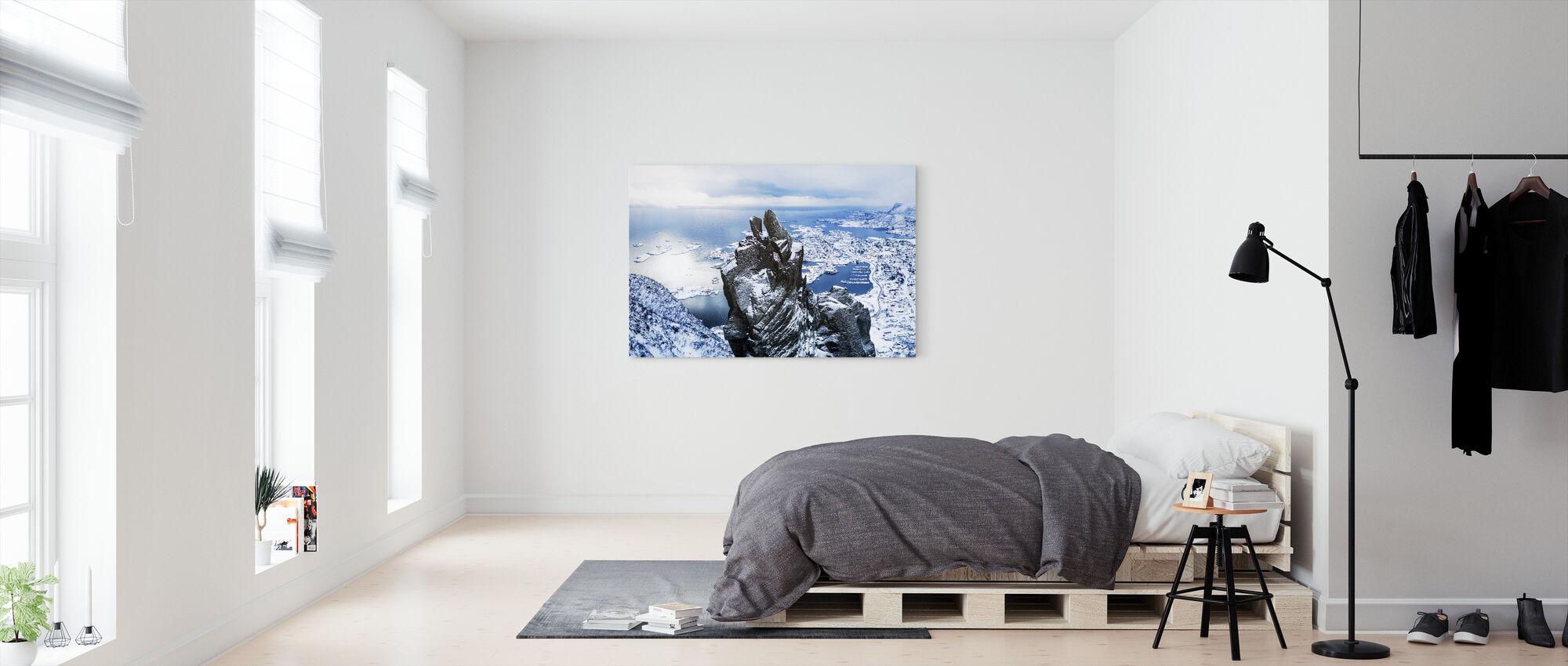Mountain Top - Canvas print - Bedroom