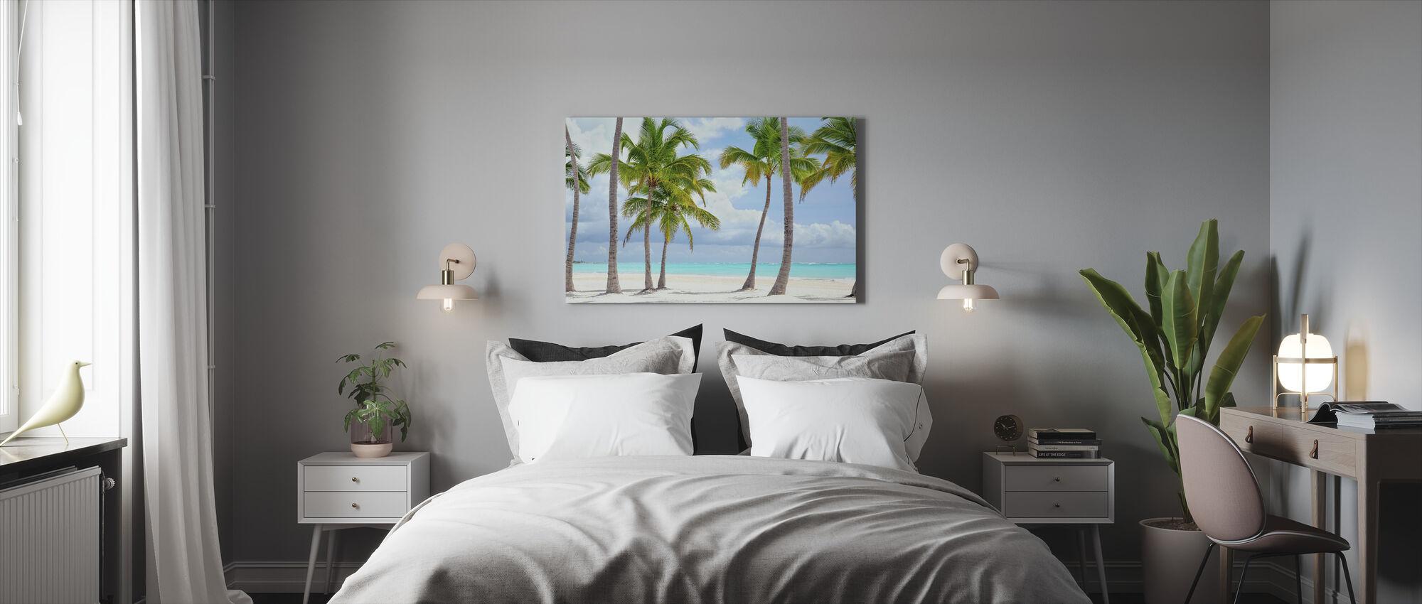 Cap Cana Seacoast - Canvas print - Bedroom
