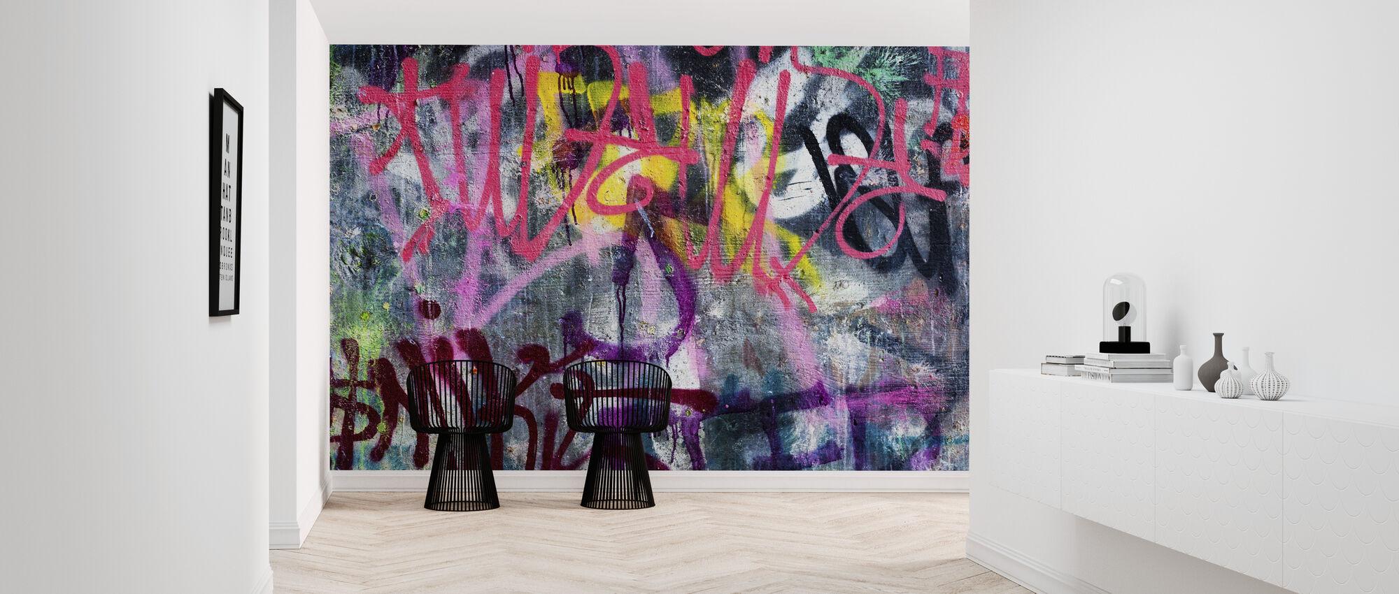 Colorful Graffiti - Wallpaper - Hallway