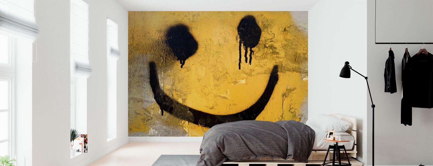Smiley Face - Wallpaper - Bedroom