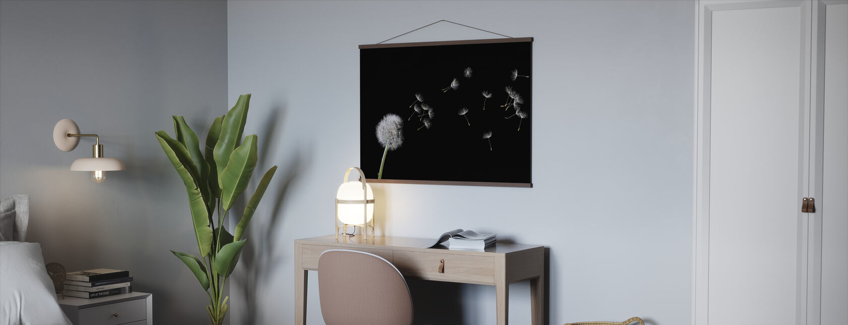 Blown Dandelion - Poster - Office