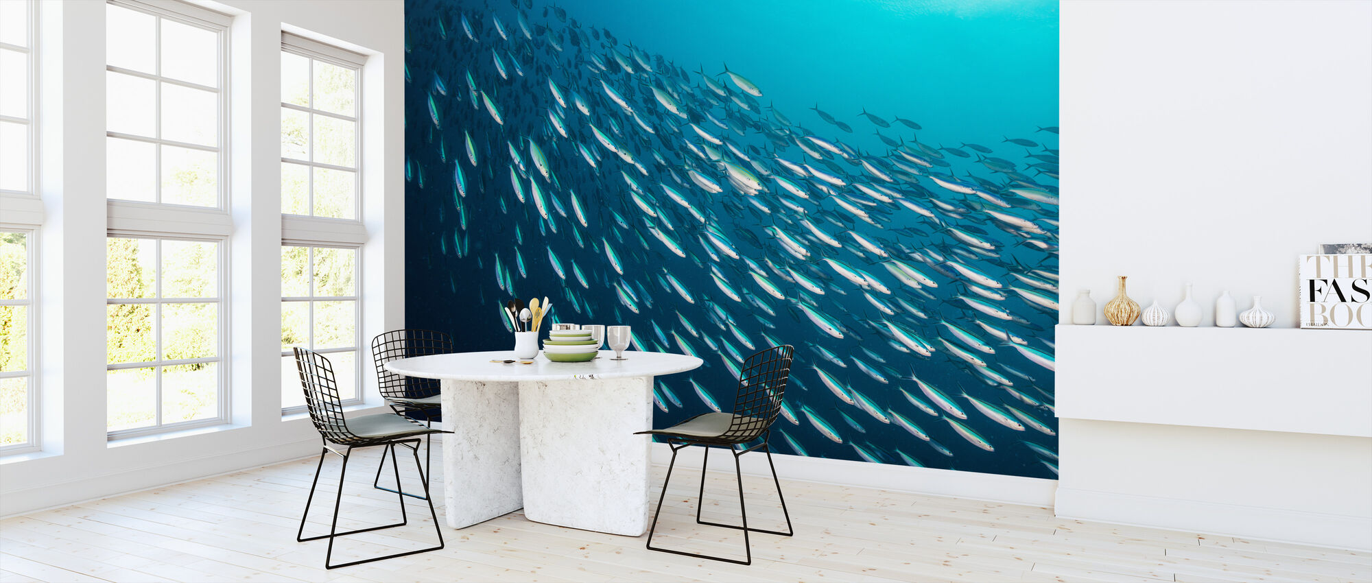 School of Sardines - Wallpaper - Kitchen