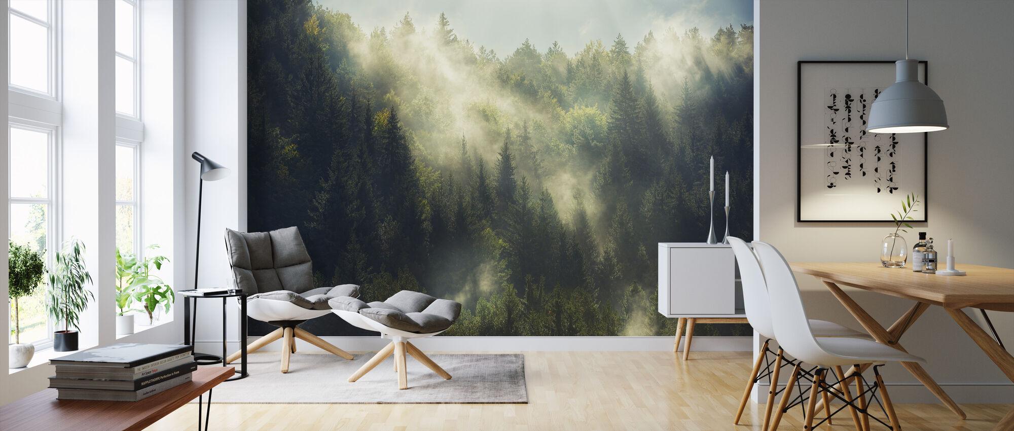 Dimmiga skogen - Tapet - Vardagsrum