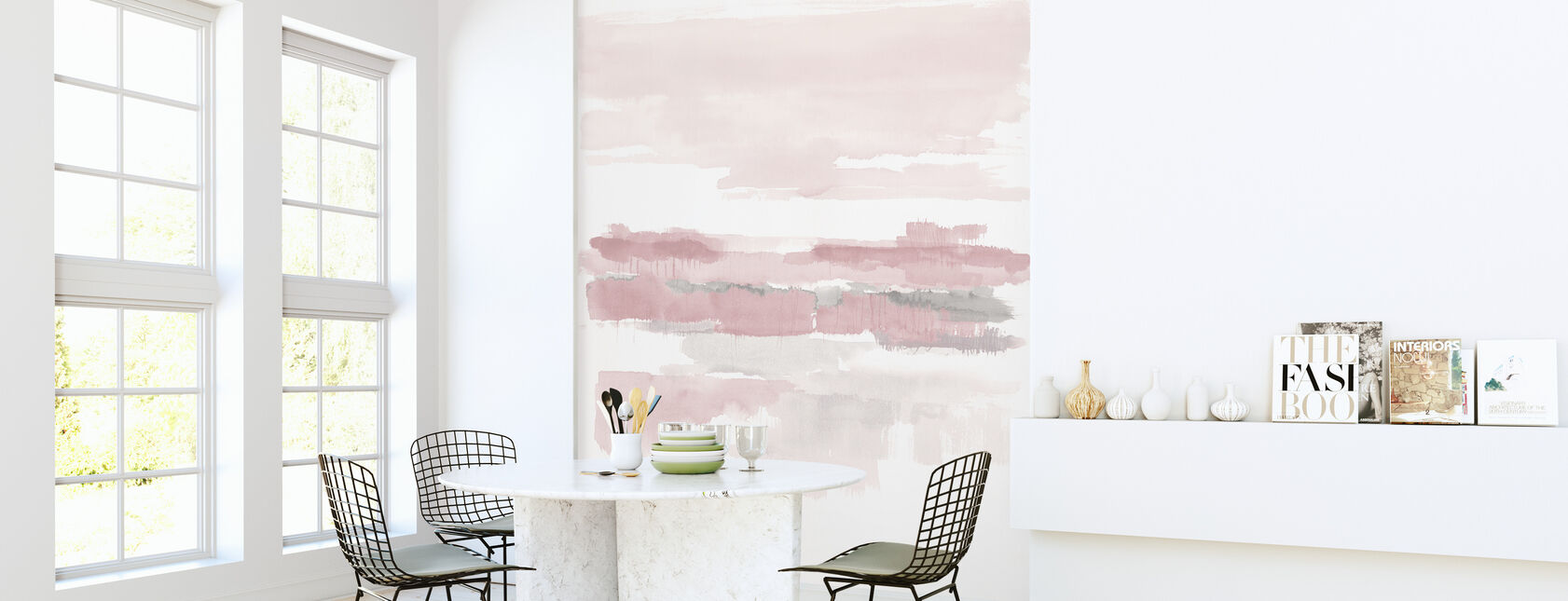 Blush Wetlands Crop - Wallpaper - Kitchen