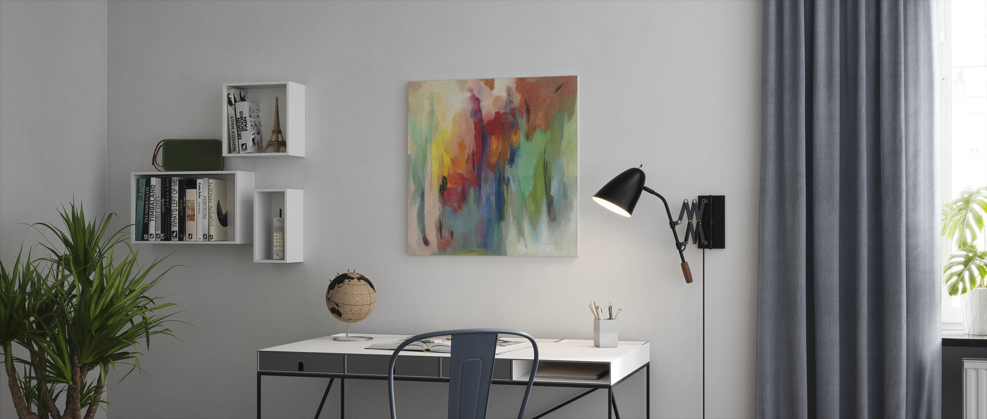 maart Rainbow - Canvas print - Kantoor