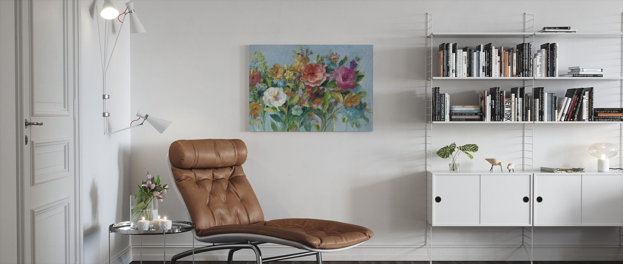 Country Florals - Canvas print - Living Room