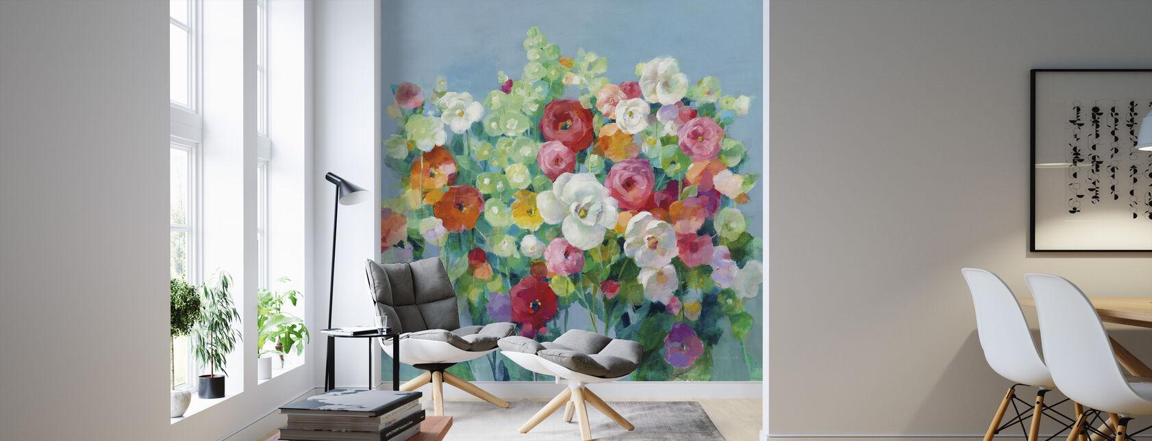 June Beauties - Wallpaper - Living Room