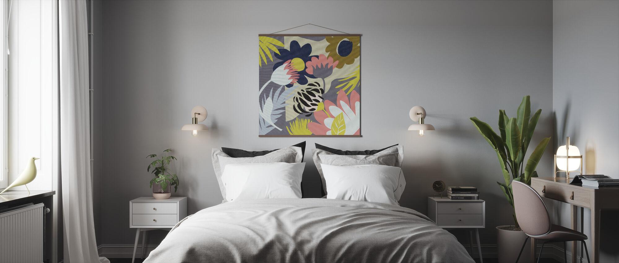 Groovy Garden - Poster - Bedroom