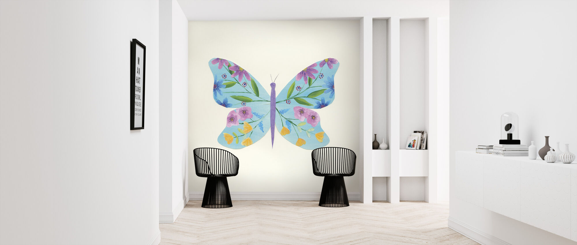 Butterfly Garden II - Wallpaper - Hallway