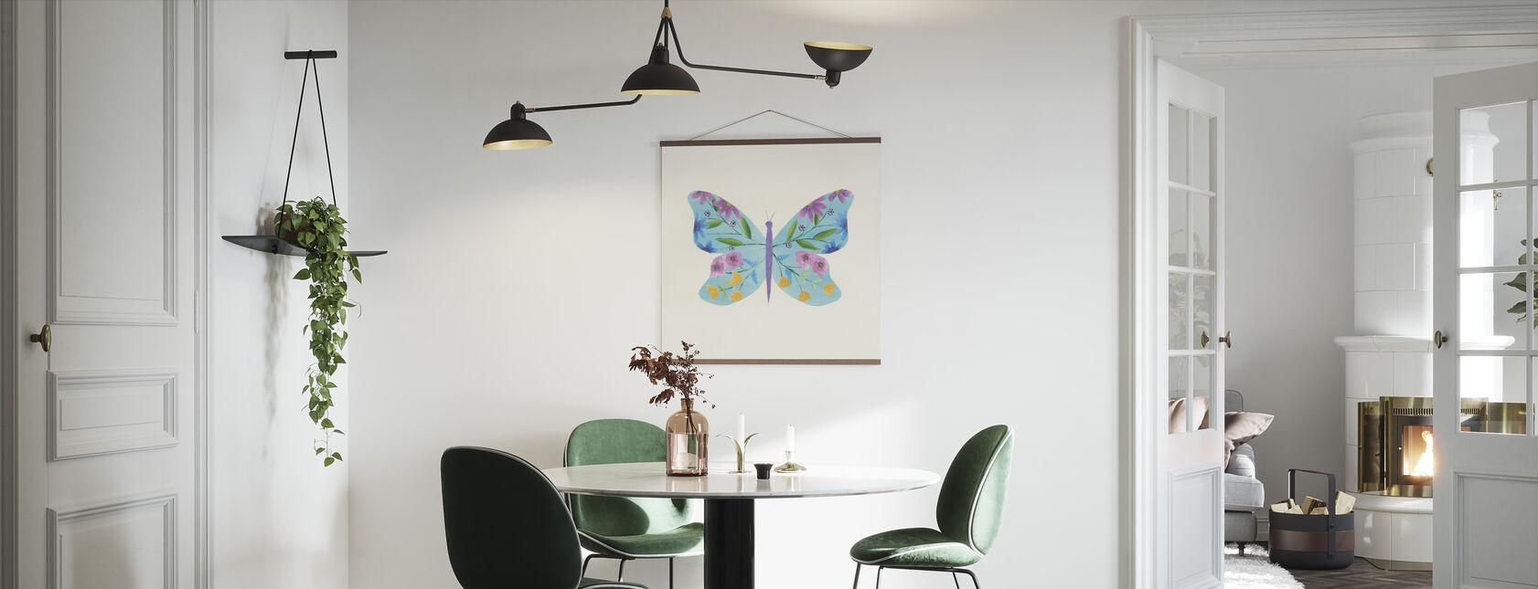 Vlindertuin II - Poster - Keuken