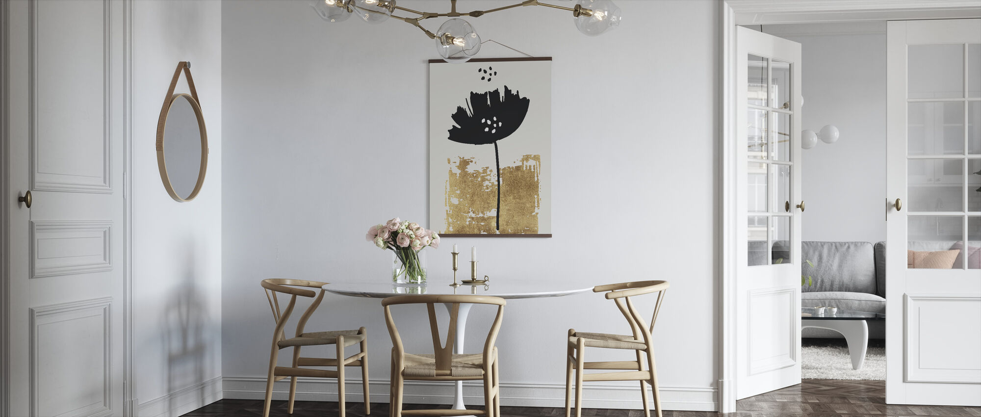 Black Poppy - Poster - Kitchen