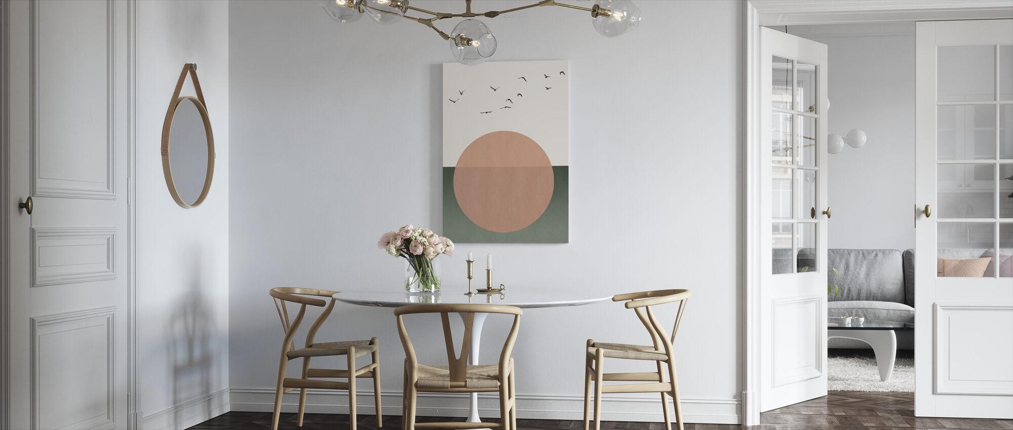 Vrije Zielen - Canvas print - Keuken