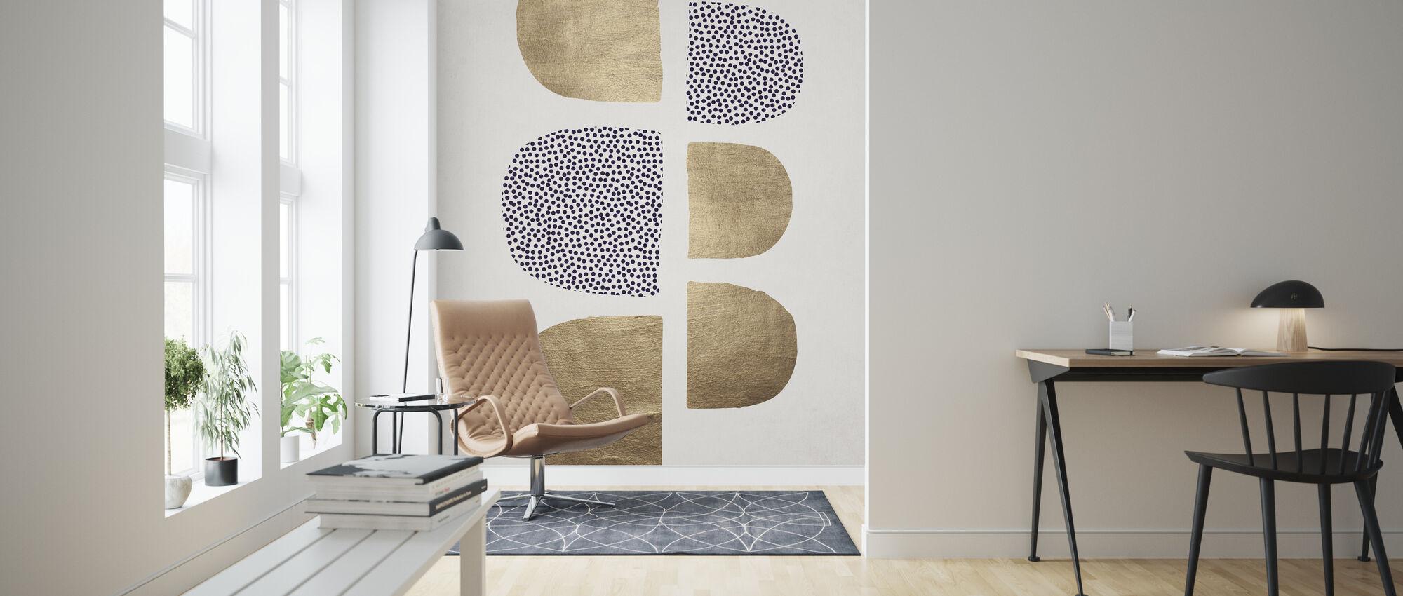 Geometric Abstracta - Wallpaper - Living Room
