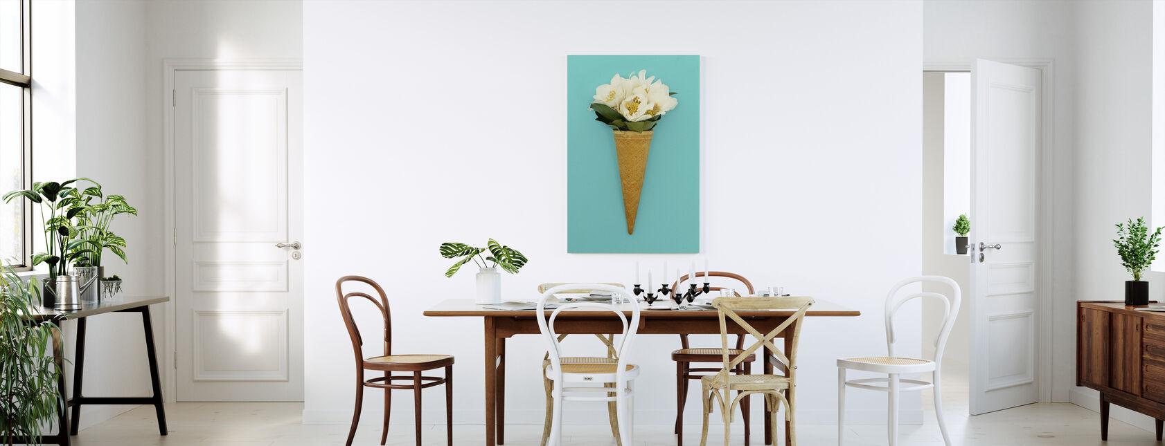 Ice Cream Bouquet - Canvas print - Kitchen
