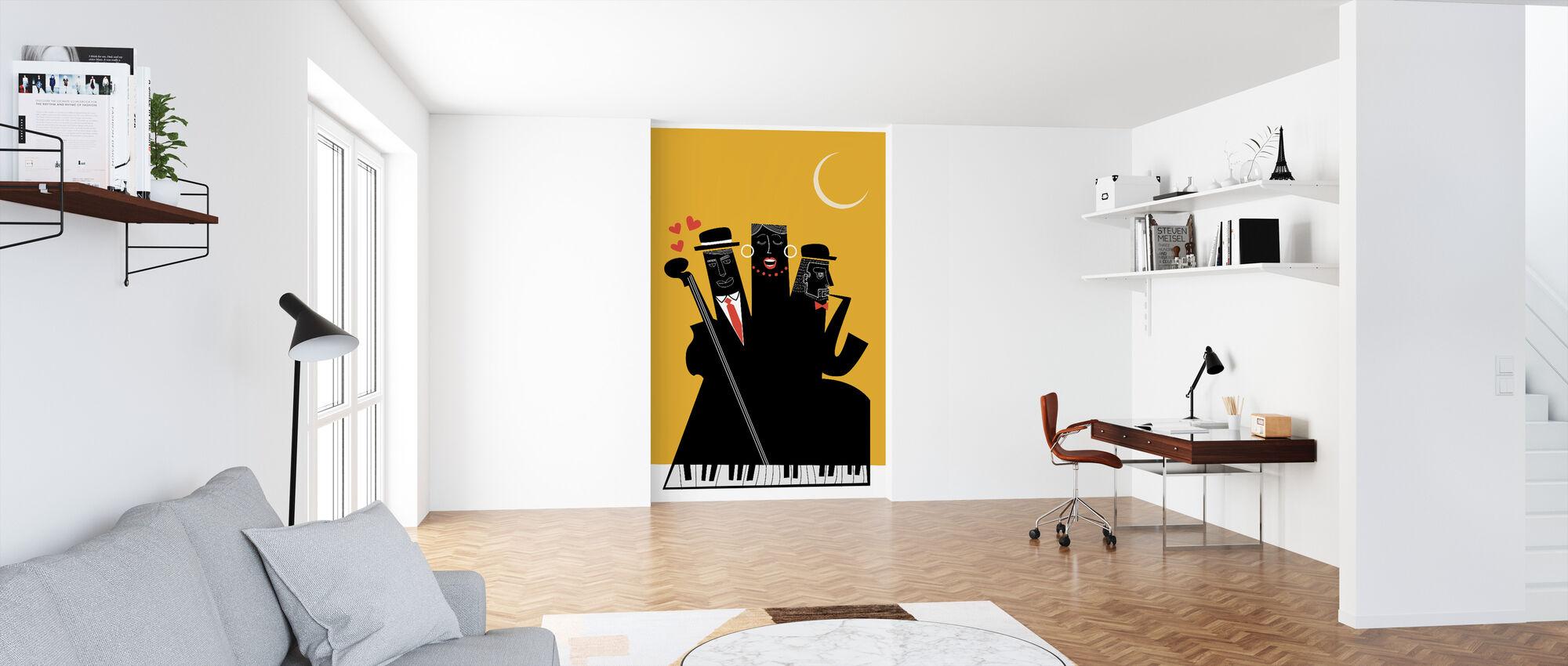 jazzy netter - Tapet - Kontor