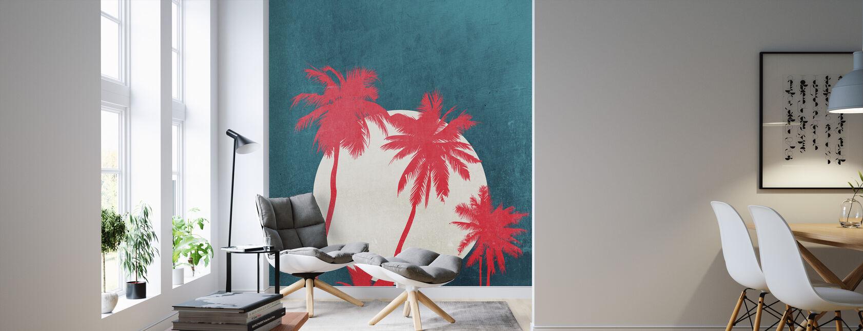 La Palma Moonshine - Wallpaper - Living Room