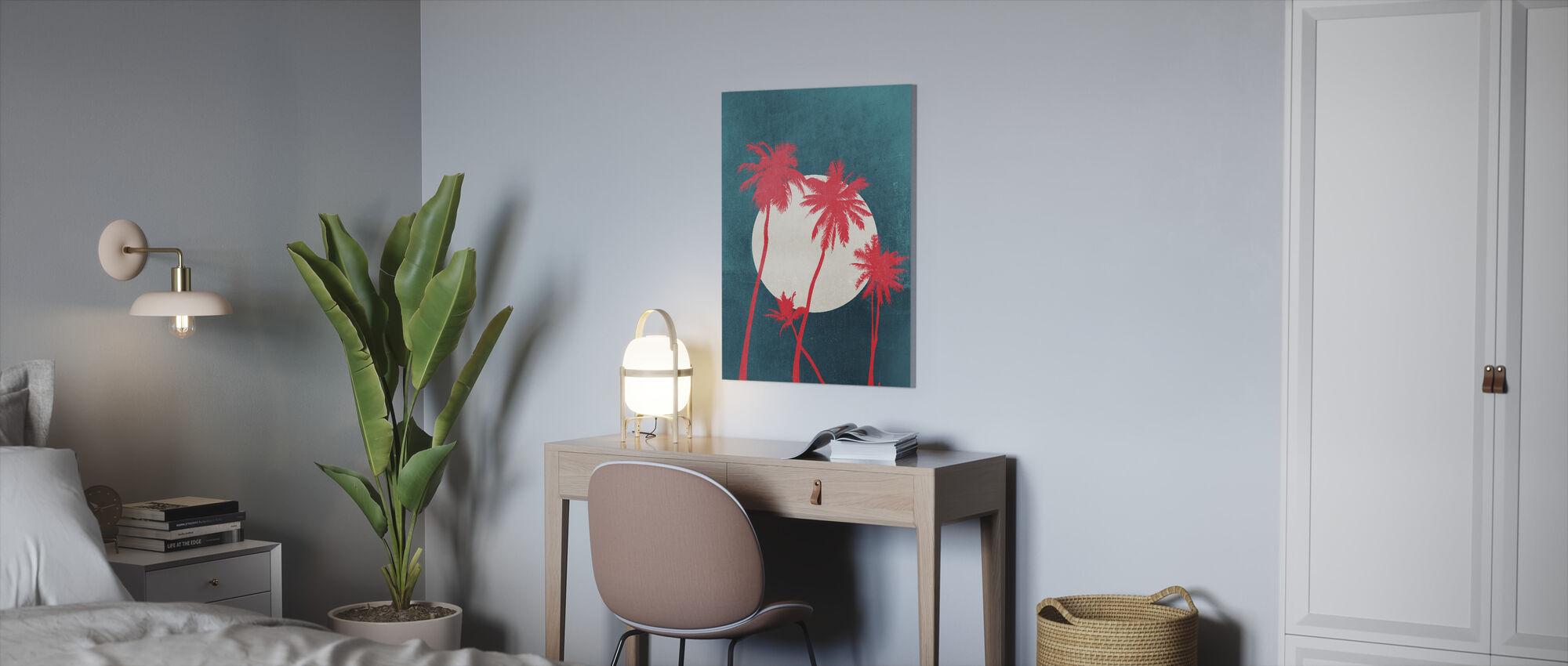 La Palma Moonshine - Canvas print - Office