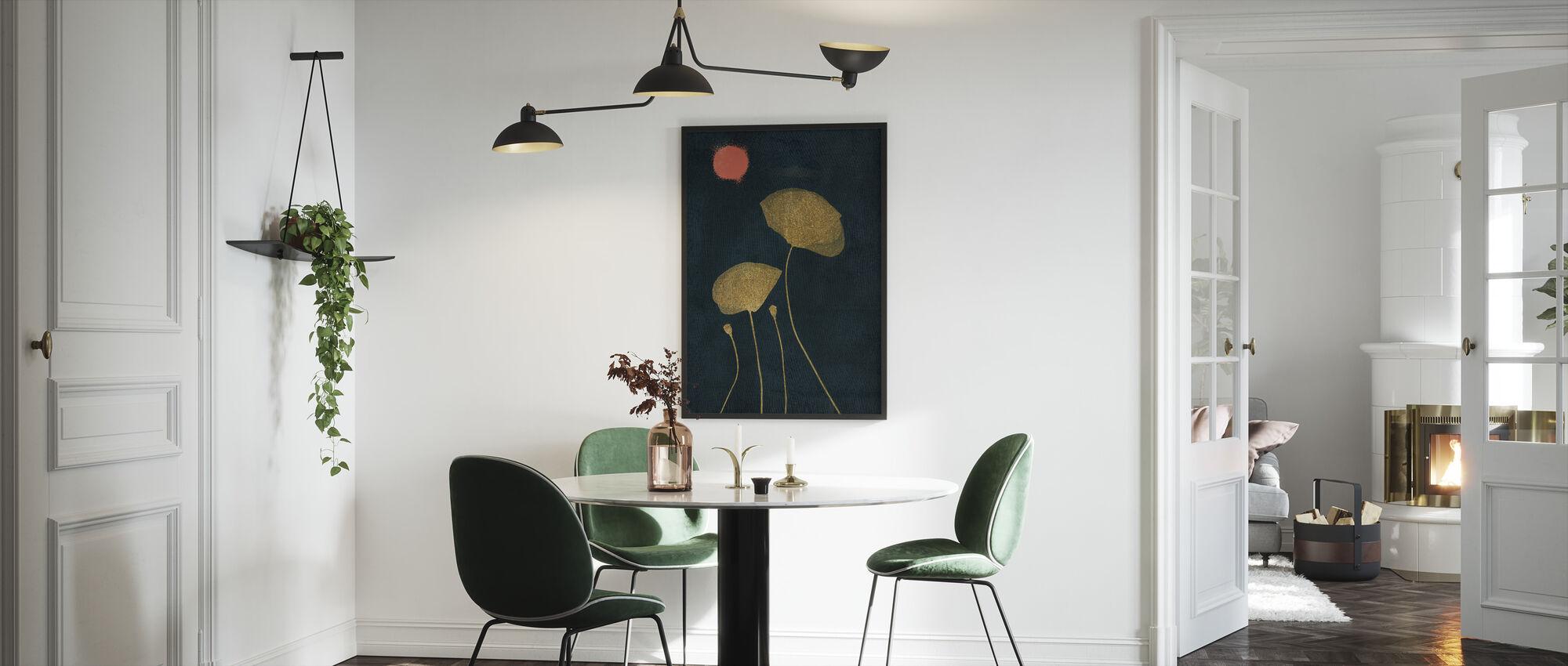 Midnight Lovers - Framed print - Kitchen