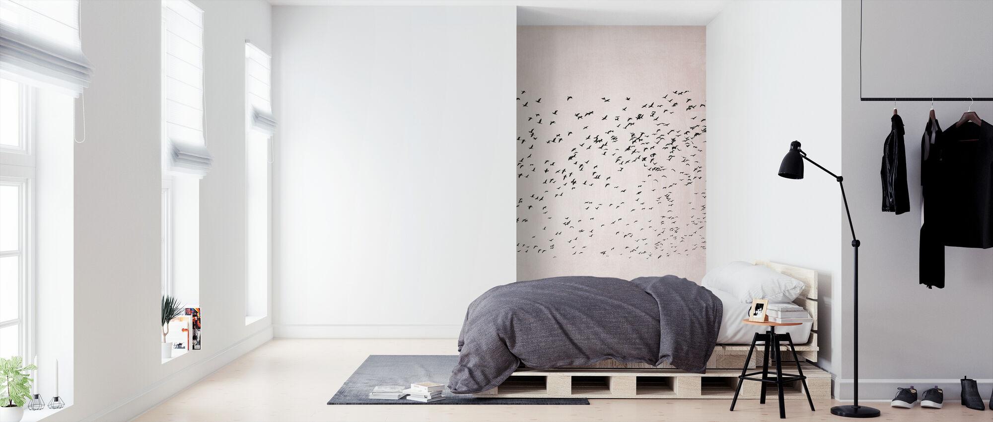 Verhuizen - Behang - Slaapkamer