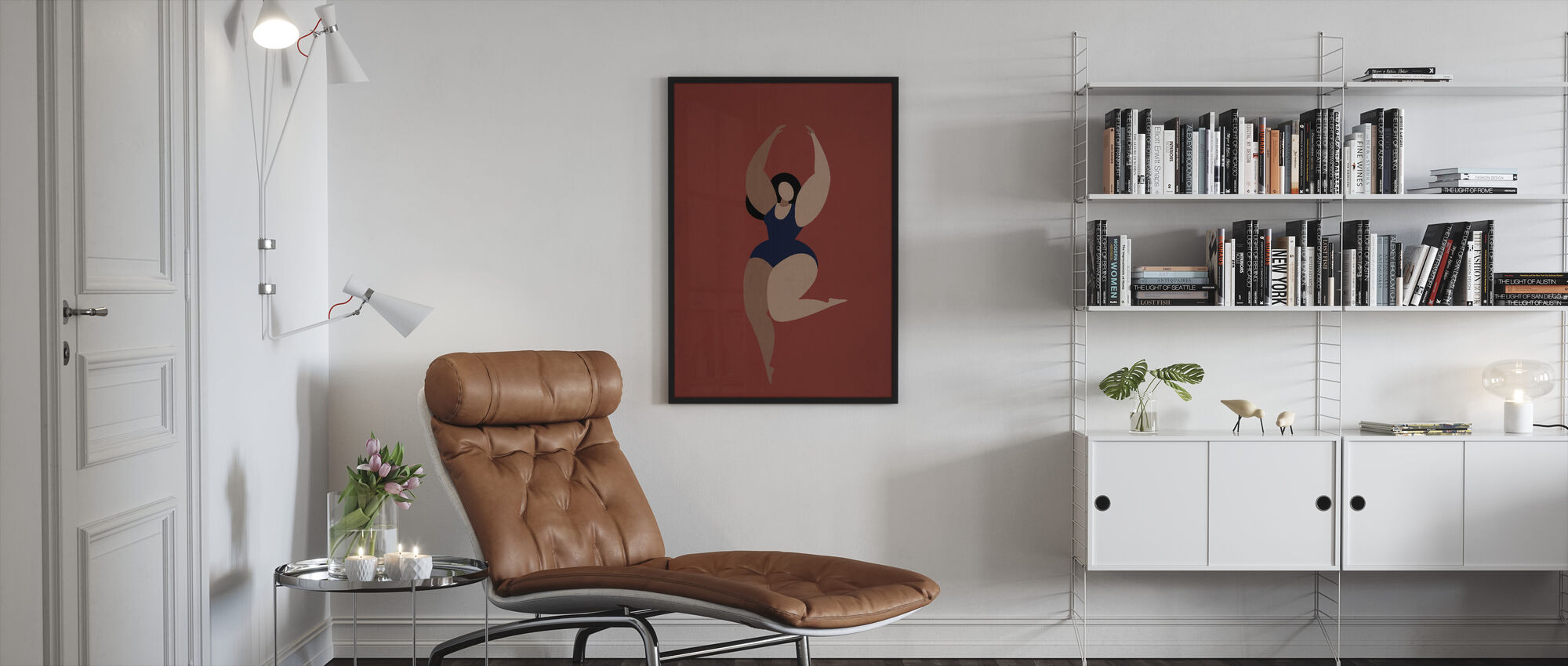 Prima Ballerina - Framed print - Living Room
