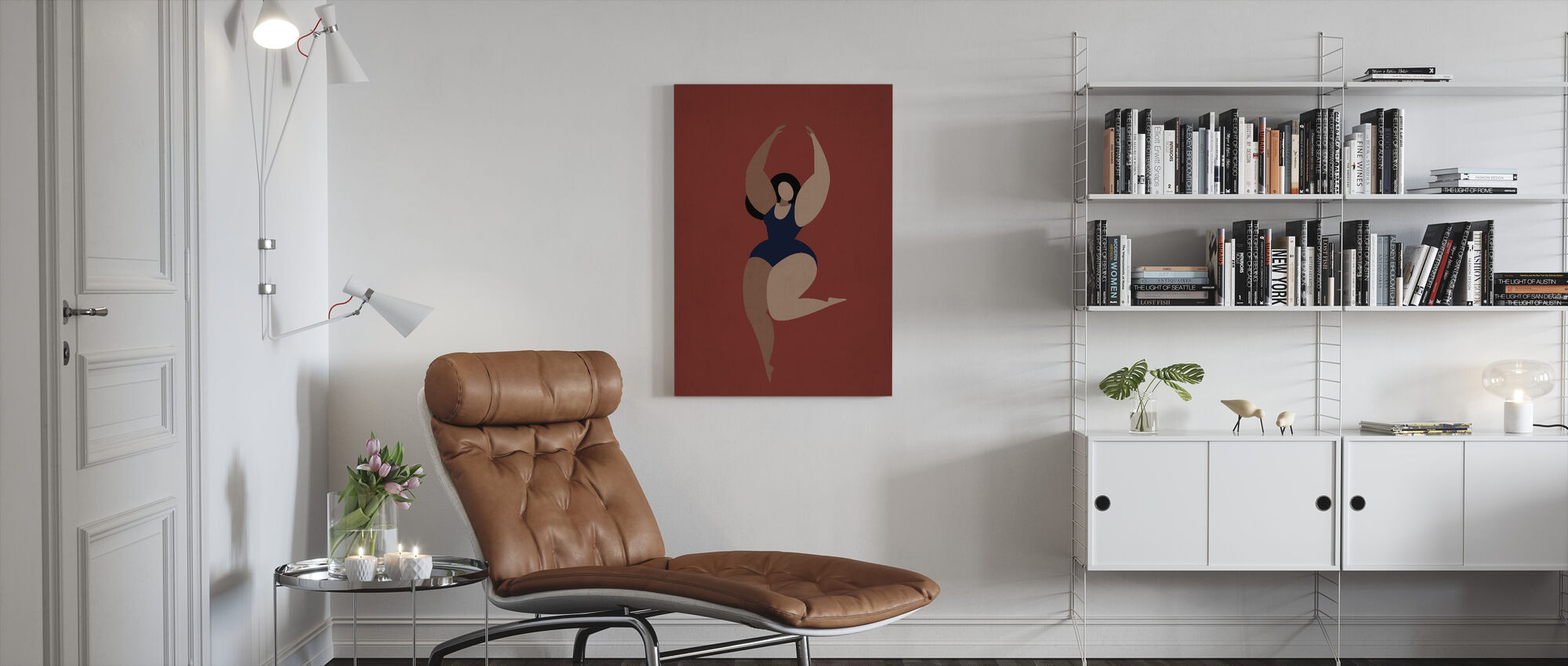 Prima Ballerina - Canvas print - Living Room