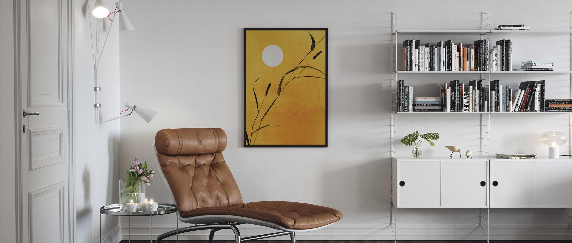 Sunny Side - Framed print - Living Room