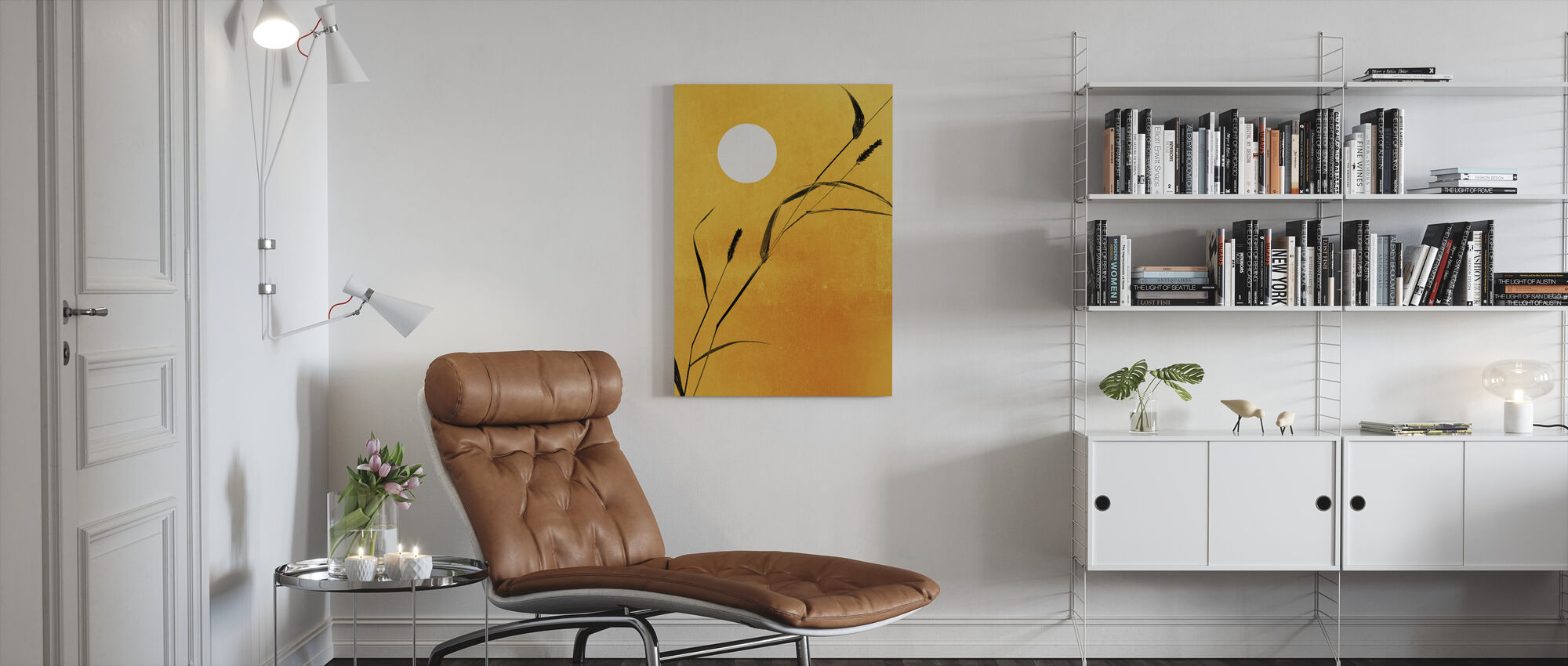 Sunny Side - Canvas print - Living Room