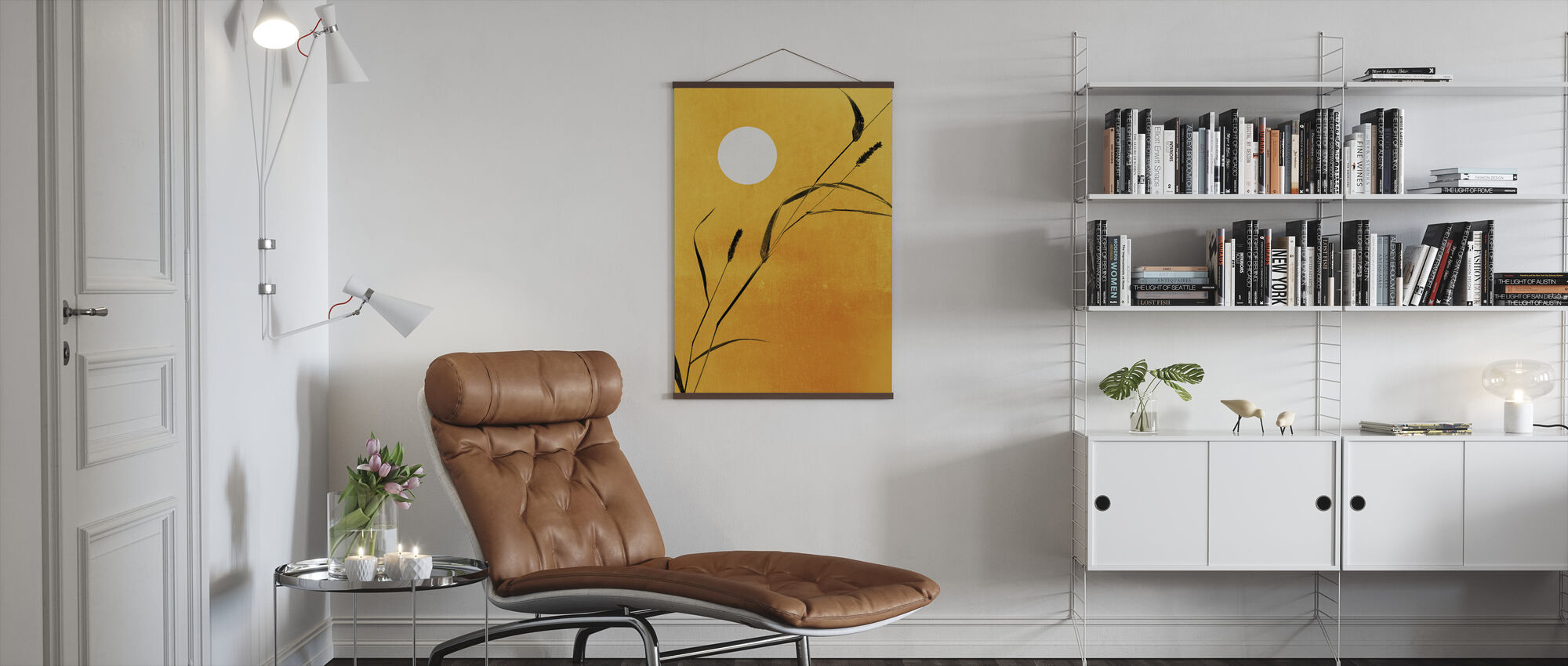 Sunny Side - Poster - Living Room