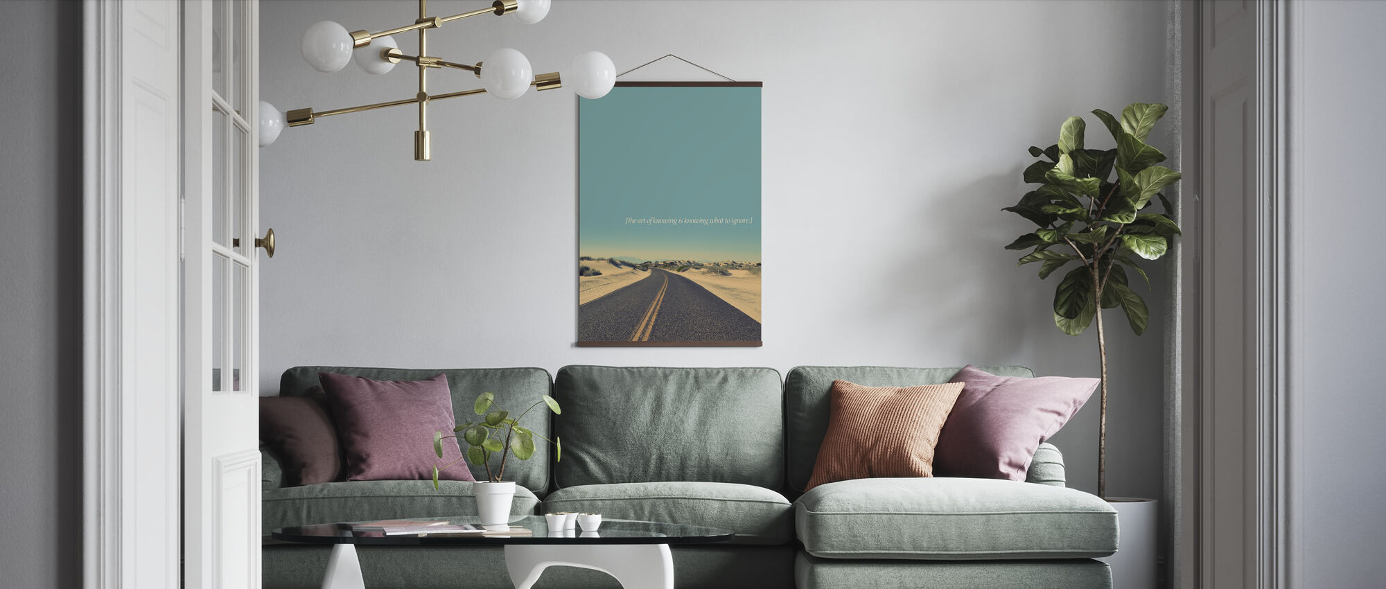 The Art of Knowing - Poster - Living Room