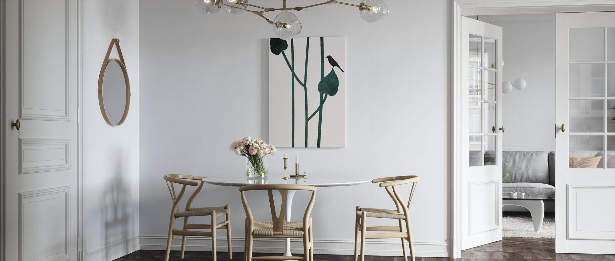 Bird - Canvas print - Kitchen