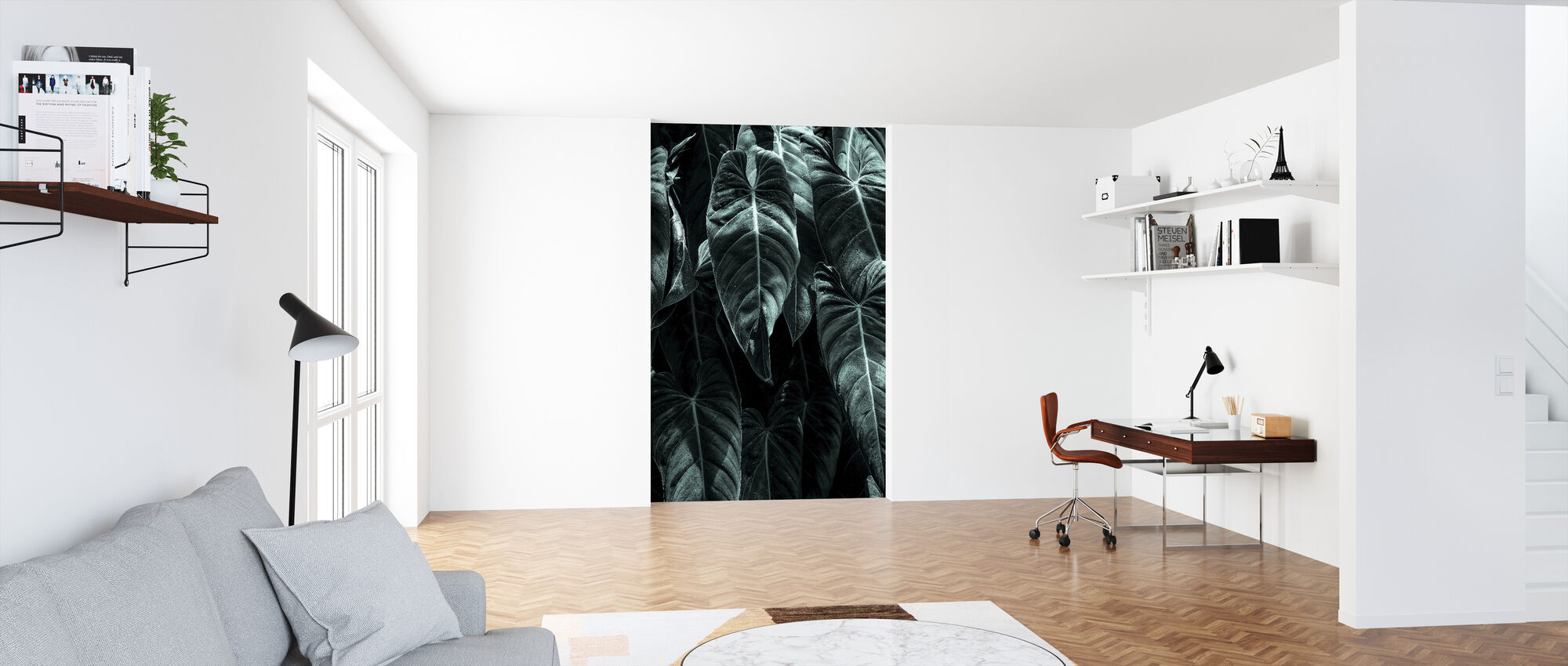 Jungle - Wallpaper - Office