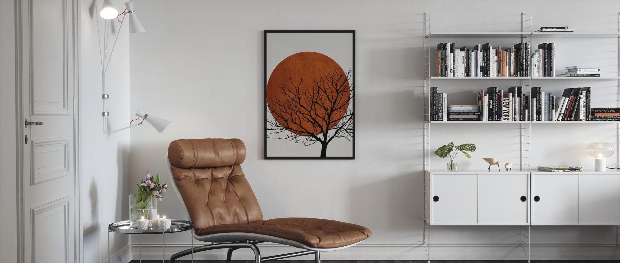 Warm Winter - Framed print - Living Room