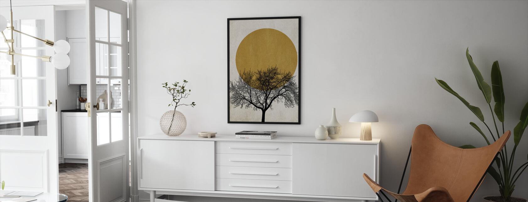 Winter Morning - Framed print - Living Room