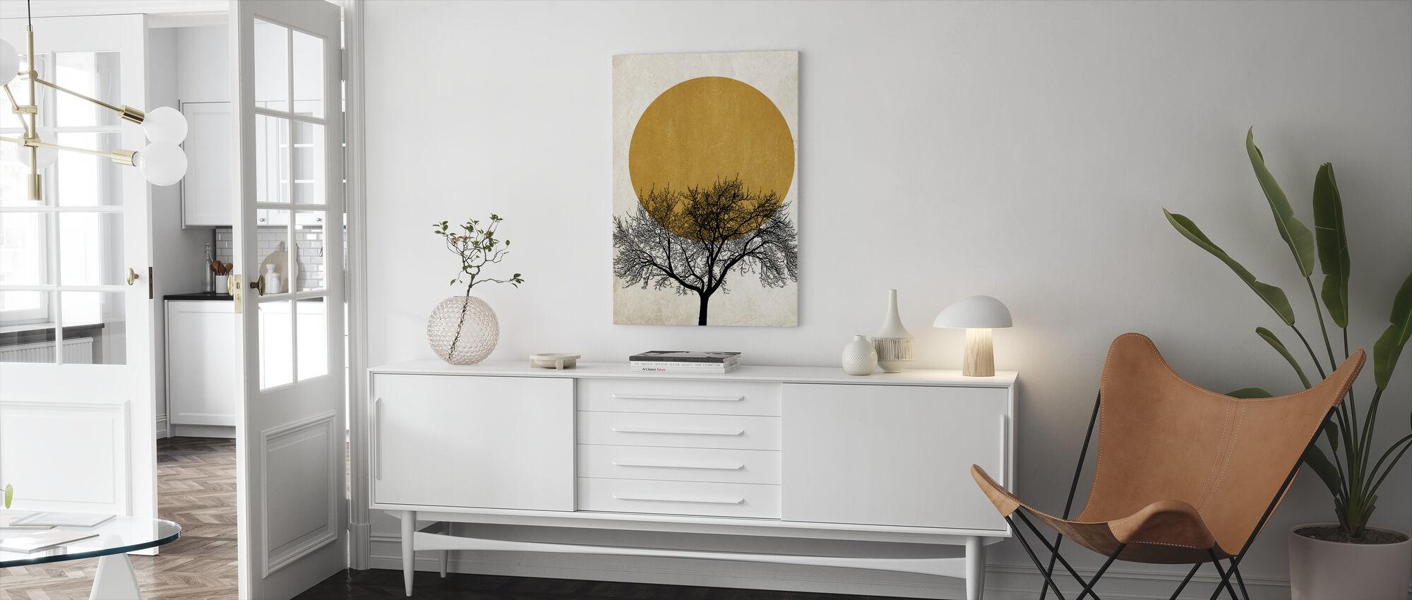 Winter Morning - Canvas print - Living Room