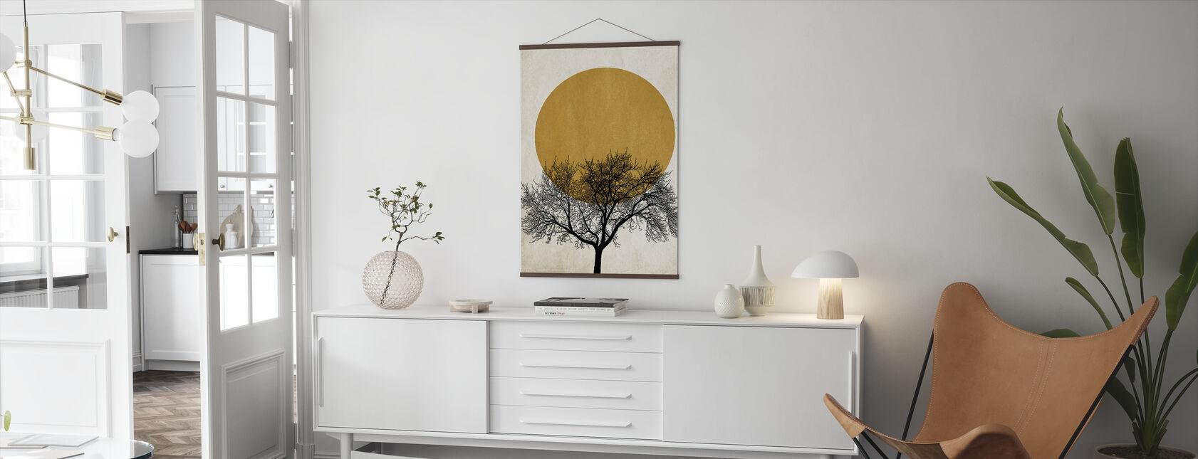 Winter Morning - Poster - Living Room
