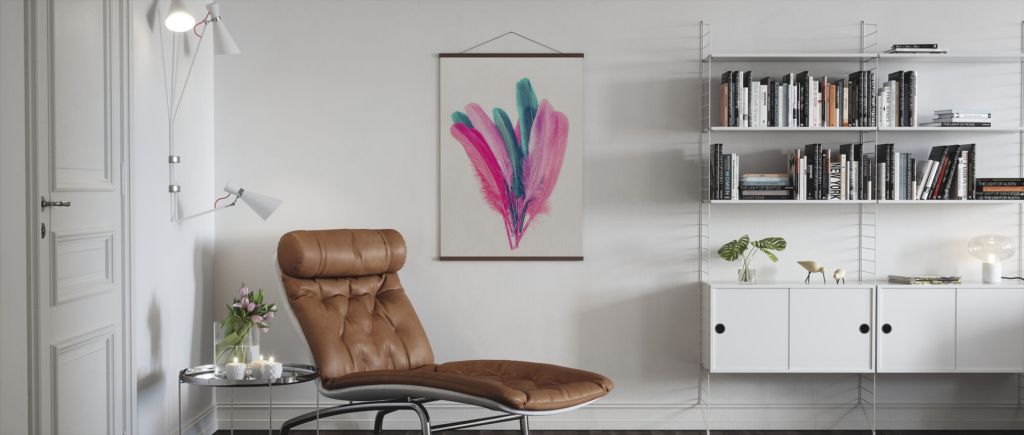 Feather Bouquet - Poster - Living Room
