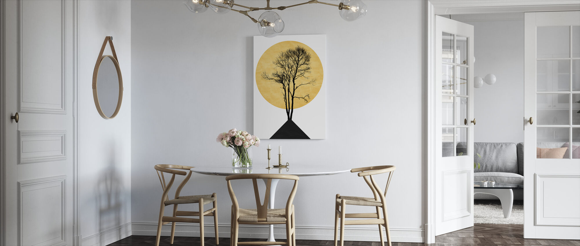 Japanese Zen - Canvas print - Kitchen
