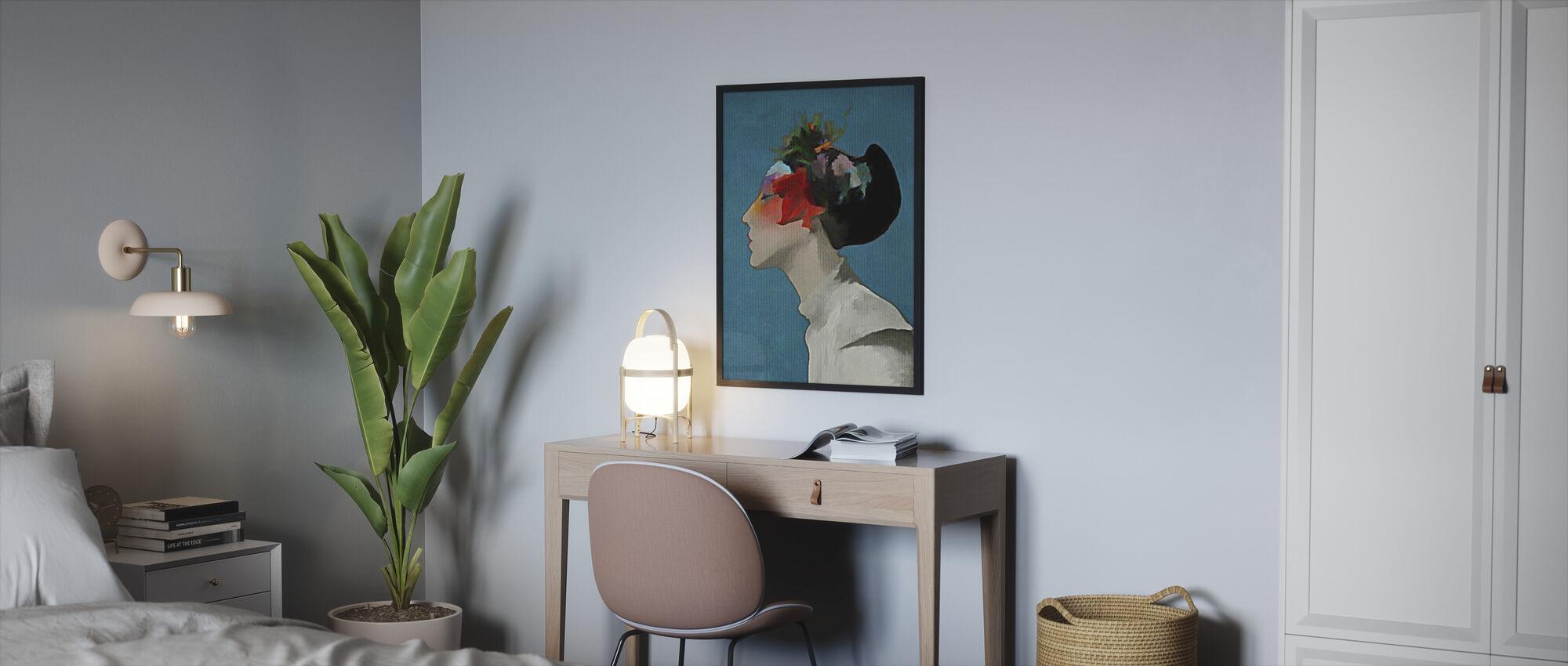 Kimono - Framed print - Bedroom